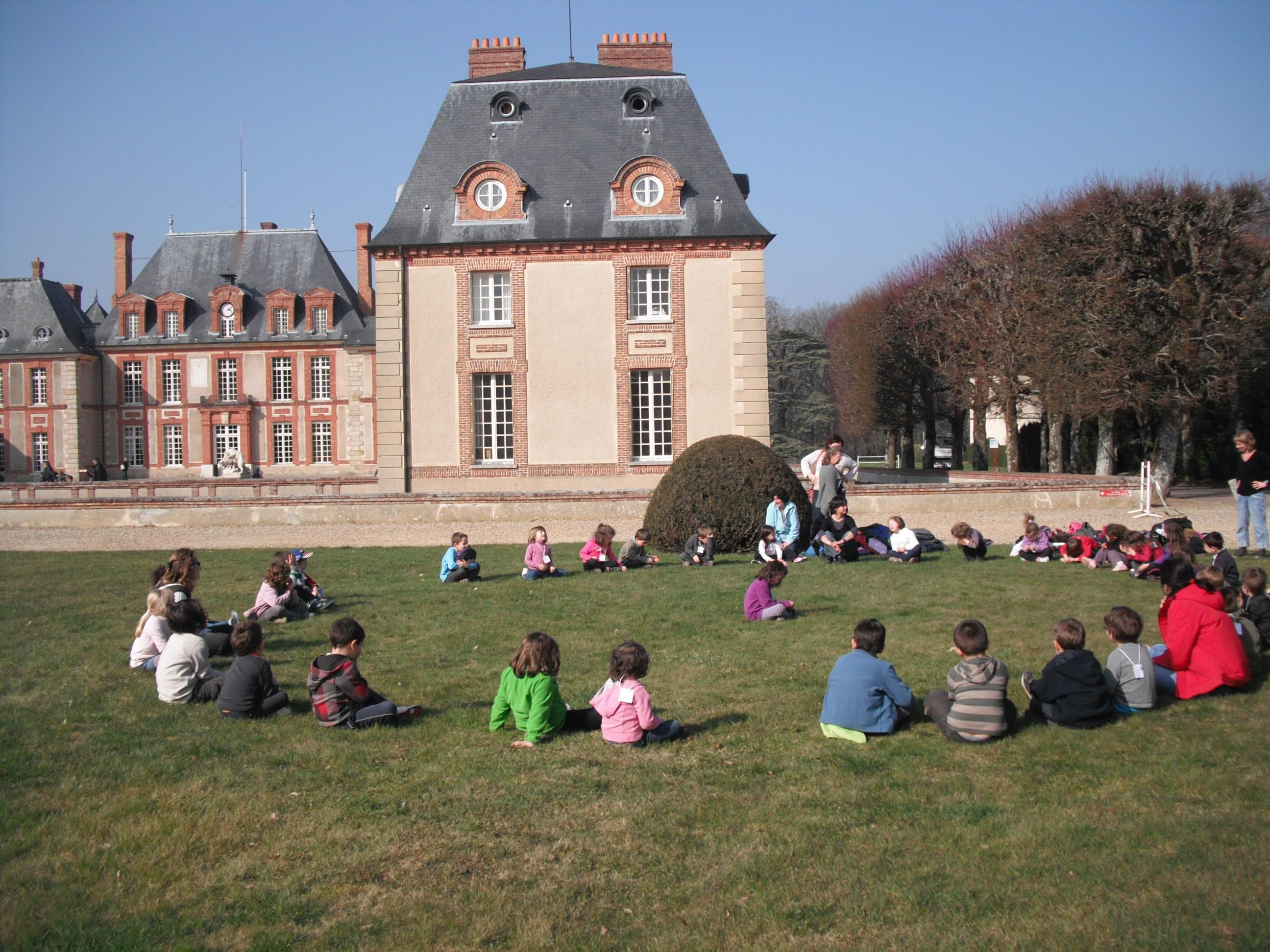 Sortie au Château de Breteuil