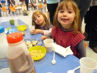 Bien manger, à la maternelle