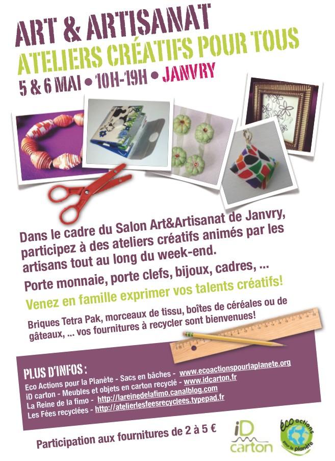 Salon Art & Artisanat de Janvry – 5/6 Mai 2012