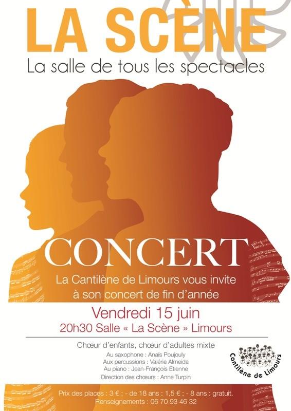 Concert annuel de la Cantilène de Limours