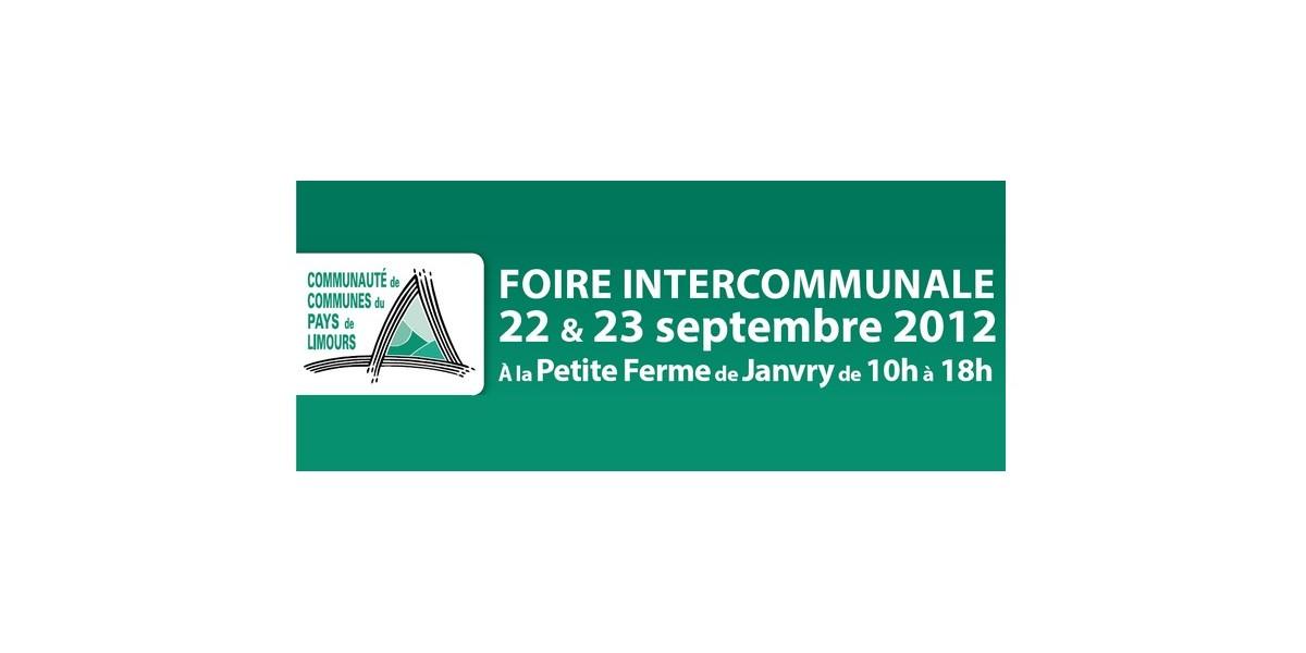 Foire intercommunale les 22 et 23 septembre