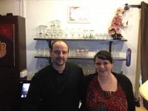 Cathy et Laurent Legrand