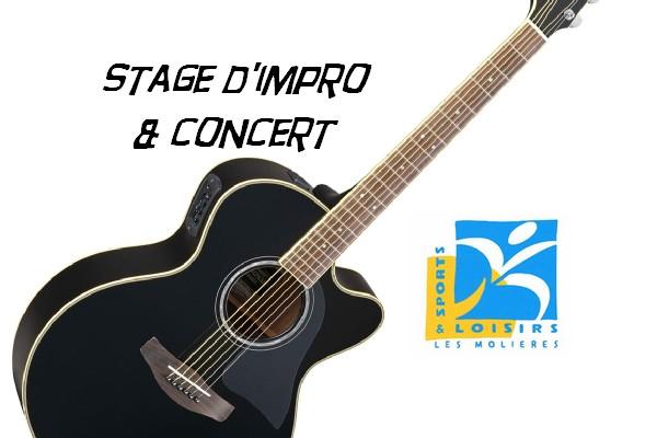Stage et concert le 19 janvier au Paradou