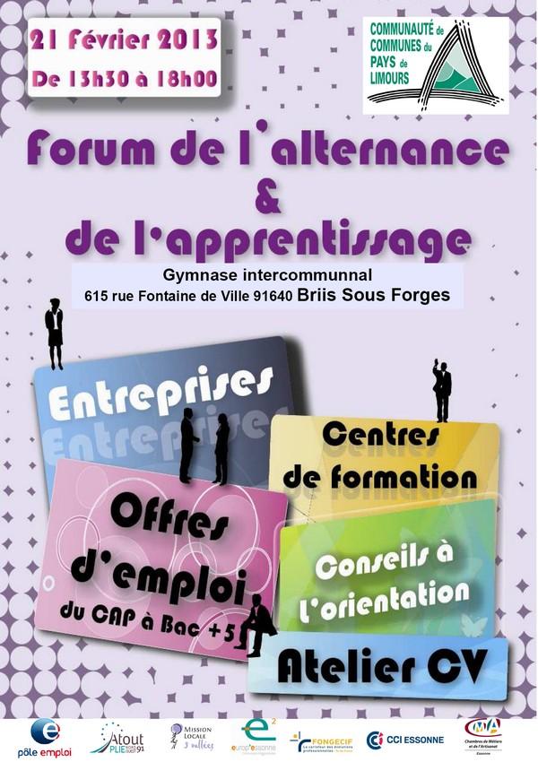 Forum de l'alternance et de l'apprentissage