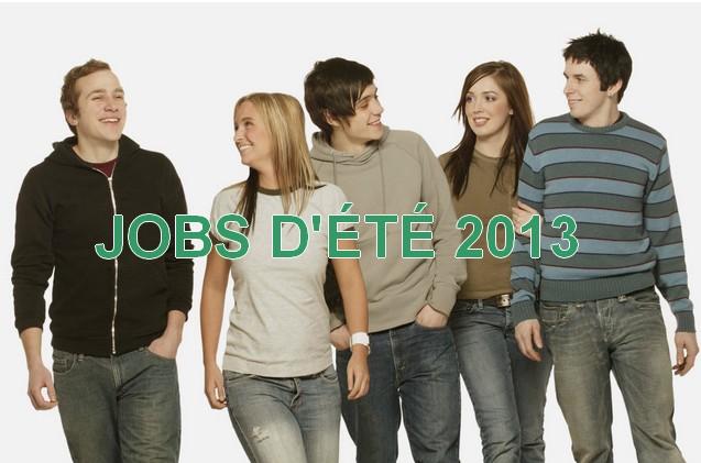 Jobs d'été 2013, pour les jeunes de 16 à 25 ans