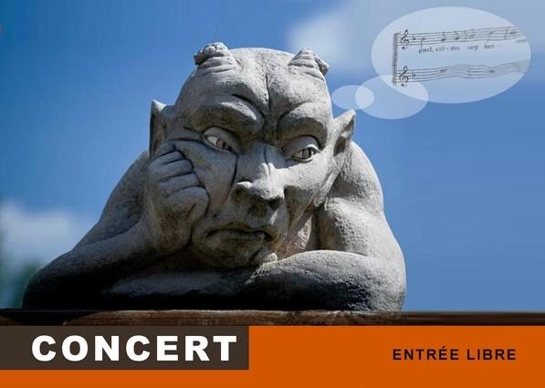 """Concert """"Les Fifrelins"""" à l'église des Molières le 19 avril"""
