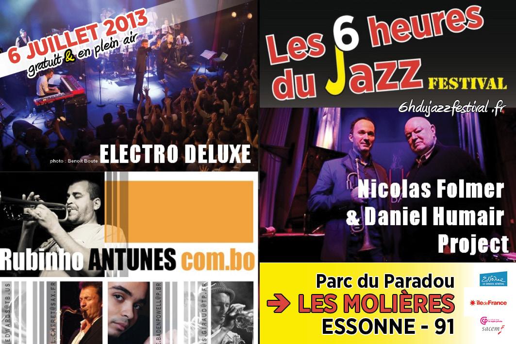 6 Heures du Jazz 2013 : le programme