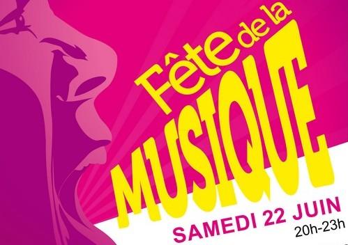 Fête de la musique samedi 22 juin