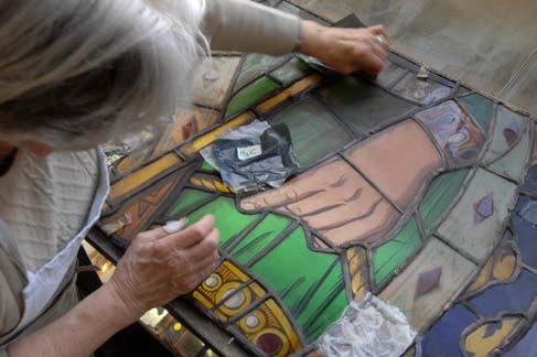 Festival des métiers d'art de la restauration du patrimoine à Sermaise le 15 septembre
