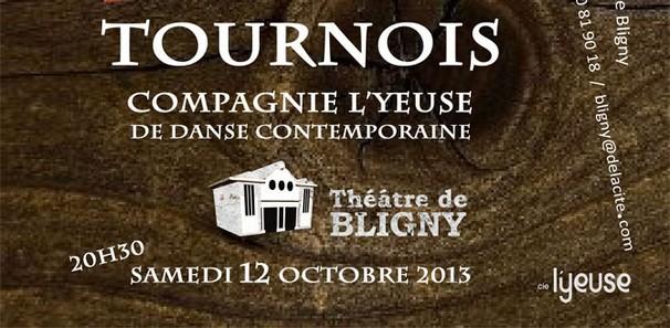 TOURNOIS : danse au Théâtre de Bligny, le 12 octobre