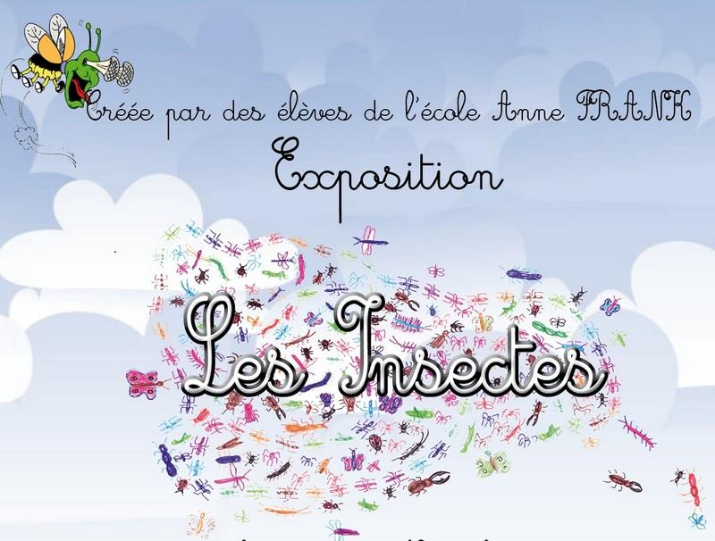 """Exposition """"Les insectes"""" par les enfants de l'école"""