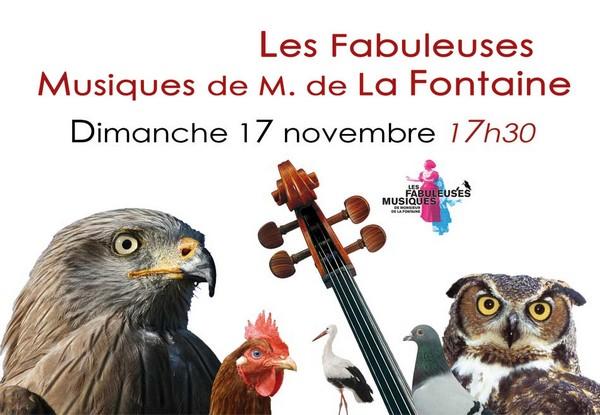 Les Fabuleuses Musiques de M. de La Fontaine