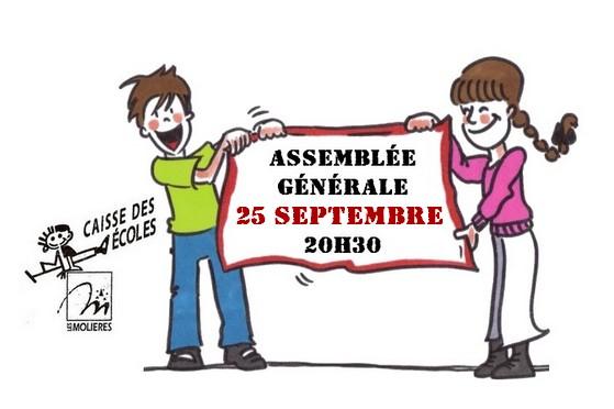 Assembl e g n rale de la caisse des ecoles les moli res - Assemblee generale association renouvellement bureau ...
