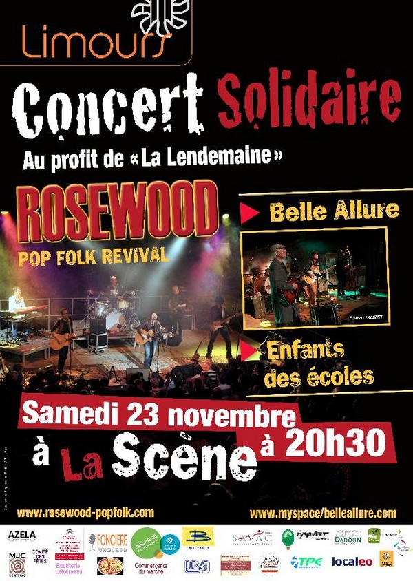 Concert Solidaire à Limours au profit de La Lendemaine