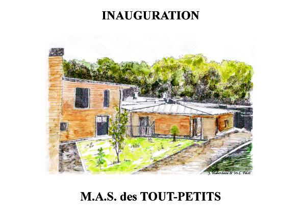 Inauguration d'une MAS aux Mesnuls (78) pour les Tout-Petits