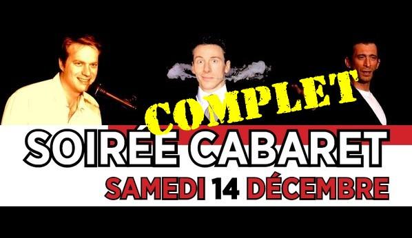Soirée CABARET samedi 14 décembre