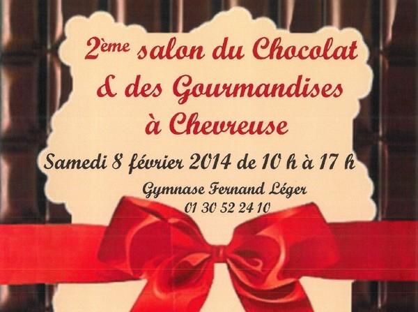 Salon du chocolat à Chevreuse le 8 février