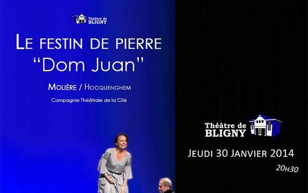 Dom Juan au Théâtre de Bligny le 30 janvier