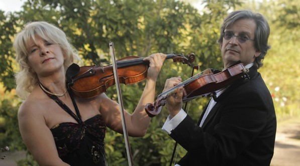 Concert 2 violons à l'église des Molières le 28 mars