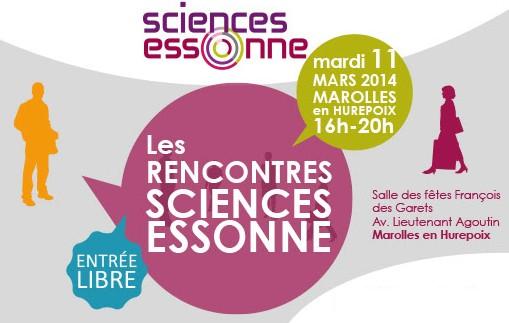 Rencontres SCIENCES ESSONNE le 11 mars