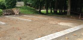 26 mai au 20 juin : rénovation des aires de stationnement du Paradou