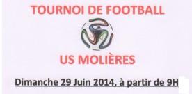 Tournoi de foot | dimanche 29 juin
