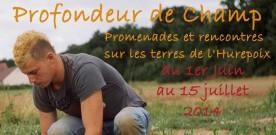 """Concours photo """"Profondeur de champs"""" jusqu'au 15 juillet 2014"""
