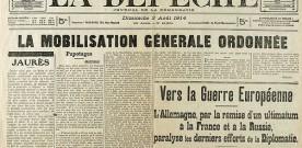 La mobilisation générale du 1er août 1914