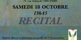 Concert à Paris pour les Tout-Petits le 18 octobre