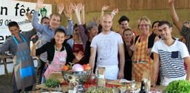 13 décembre : Ateliers de cuisine à la Ferme d'Armenon