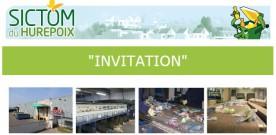 Invitation du SICTOM : visite centre de tri le 19 décembre