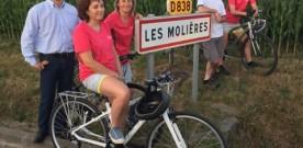 """Les """"Cyclo-cops"""" et leur périple Les Molières – Mont St Michel"""