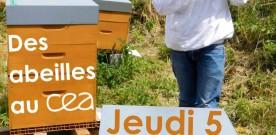 Conférence sur le projet d'abeilles au CEA