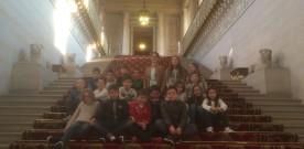 Visite du Sénat par le Conseil Municipal des Enfants