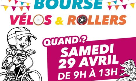Bourse aux vélos et rollers le 29 avril