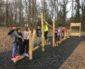 """""""Parcours d'agilité"""" pour les enfants à proximité du Paradou"""