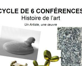 Conférences d'Histoire de l'Art 2018