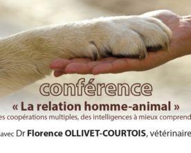Conférence «La relation homme-animal» à La Lendemaine le 20 mai