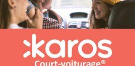Partenariat des Molières avec Karos, l'appli de court-voiturage