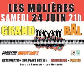 Grand Bal aux Molières, le 24 juin