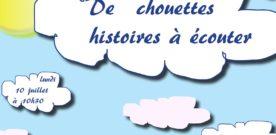 Histoires de chouettes pour les petits à la médiathèque le 10 juillet
