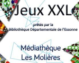 Jeux XXL à la médiathèque du 13 novembre au 15 décembre
