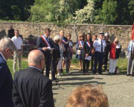 Commémoration du 8 Mai : discours du Maire