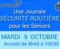La sécurité routière et les seniors, à Limours le 9 octobre