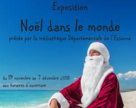 Expo Noël à la médiathèque