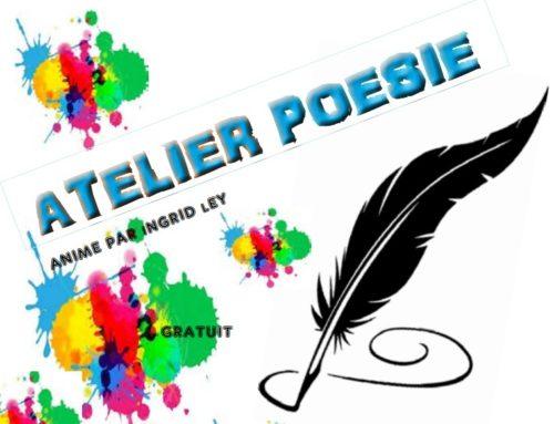 Ateliers poésie à la médiathèque – 19 et 26 janvier 2019