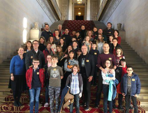 Visite au Sénat pour le Conseil Municipal des Enfants et le club ados