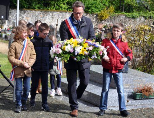 Cérémonie du 8 mai 2019 : discours du Maire