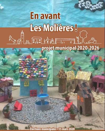 Projet municipal - En avant Les Molières - Être acteurs d'un autre modèle de développement